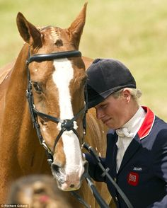 This is love.  Horse Country Chic: Zara Phillips Retires World Championship Mount.