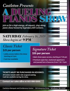 Need a fun and relaxing night out, join us for our Dueling Pianos show on Saturday, February Call our office at to purchase tickets! High Energy, Hold On, February, Singing, Join, Weddings, Night, Pianos, Naruto Sad