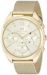 Tommy Hilfiger Women's 1781488 Analog Display Quartz Gold Watch
