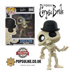 Funko Pop Dolls, Funko Pop Figures, Pop Vinyl Figures, Corps Bride, Horror Action Figures, Pop Figurine, Funk Pop, Funko Pop Vinyl, Ghostbusters
