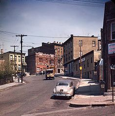 Then and now -1954 and 2012 -North Bergen,NJ - Kodachrome slide film