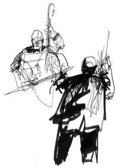 Greg Betza drawing
