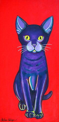 Cat art work http://www.kittyinny.com/