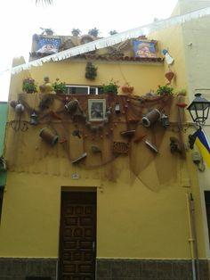 Casa de pescadores.  Tenerife. Islas Canarias. España. De Lna