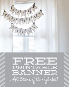 56 best free printable banner images on pinterest in 2018 borders
