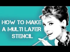 how to make a multilayer stencil - English version Spray Paint Stencils, Diy Spray Paint, How To Make Stencils, Stencil Diy, Stencil Painting, Stenciling, Air Brush Painting, Body Painting, Photo Elements