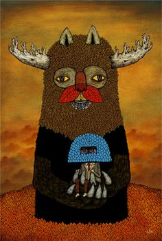 Passing Forests Bring Unlikely Companions by Andy Kehoe