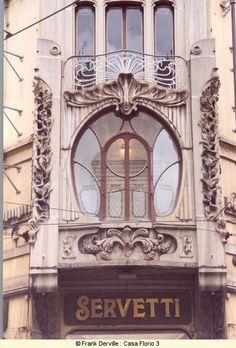 Idée : maisons art nouveau à Turin
