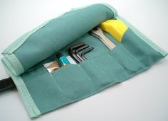 this bike tool roll looks really well made, it's great to support handmade bike merchants. just $36