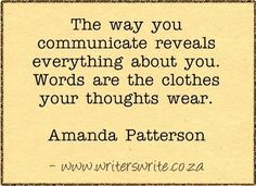 Quotable - Amanda Patterson
