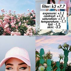 """305 Likes, 3 Comments - apps • filters • tutorials (@appsofamous) on Instagram: """"இ VSCO CAM filter. இ Works best in: Pictures with good lighting and pink. இ Cost: Paid. இ Follow…"""""""
