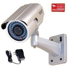 Cheap VideoSecu WDR Day Night Outdoor IR Zoom Security Camera 1/3 Pixim DPS Sensor High Resolution 690TVL IR-Cut Filter 4-9mm Varifocal Lens 48 Infrared LEDs OSD CCTV Home with Power Supply IR738WD CAB http://ift.tt/2uU95xY