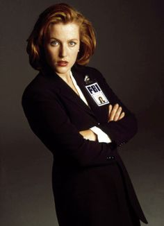 The Best Redhead Celebrities Ever - Esquire:  1993: Gillian Anderson  The police skills were always second to the legs.