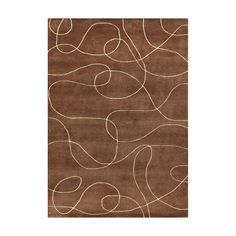 Add contemporary charm to your home interior with the addition of this inviting Alliyah area rug. Hand-woven of New Zealand blend wool, this rich area rug presents with a geometric pattern in compelling brown and camel tones.