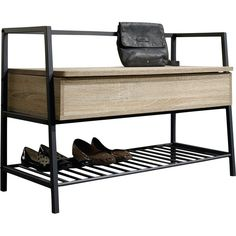 Vermont Storage Entryway Bench