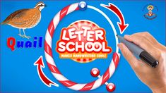 Letter School handwriting & Learn how to write letters Alphabet A to Z and Learn animals names Learning Games For Kids, Fun Games For Kids, Math For Kids, Teaching Kids, Games To Play, Letter School, Baby Games, Letter Writing, Handwriting