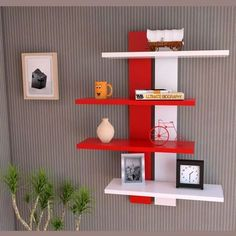 7 Mighty Clever Hacks: Floating Shelves Layout Floors floating shelf entertainment center home.Floating Shelves Bar Shelf Brackets floating shelves bedroom with tv.How To Make A Floating Shelf Design. Reclaimed Wood Floating Shelves, Floating Shelves Bedroom, Floating Shelves Kitchen, Wood Shelves, Bathroom Shelves, Bookcase Wall, Wall Shelf Rack, Hanging Shelves, Regal Design