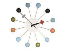 Relógio de parede Ball. Design: George Nelson.