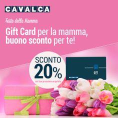 Se regali una Gift Card, Cavalca ti regala uno sconto del 20% sul tuo prossimo acquisto! Scopri di più su cavalca.com #promozione #sconti #giftcard #cavalca