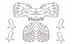 dragon puppet | Chinese New Year Craft: Dragon Puppet & Free Printable