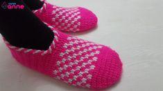 Tığ İşi Pötkare Patik Yapımı - Canım Anne Blouse Pattern Free, Free Pattern, Knitting Blogs, Baby Knitting Patterns, Baby Sleeping Bag Pattern, Handmade Kids Bags, Crochet Table Runner Pattern, Cross Stitch Pattern Maker, Crochet Bikini Pattern
