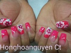 one stroke flower by honghoanguyenct - Nail Art Gallery nailartgallery.nailsmag.com by Nails Magazine www.nailsmag.com #nailart