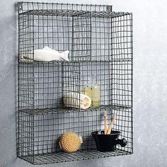 Wire Shelf Rack By Nkuku | Notonthehighstreet.com