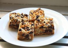Add butterscotch and chocolate chips, nuts, shredded coconut, and sweetened…