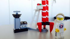 Denmark's first astronaut is launching on a ten-day taxi flight to the International Space Station, taking with him a Danish toy that is known worldwide. Andreas Mogensen will fly to the station with LEGO minifigures bearing the official logo of his missi Lego Astronaut, Saturns Moons, Space Launch, Astronauts In Space, Lego Design, International Space Station, Lego News, Lego Brick, Gaming