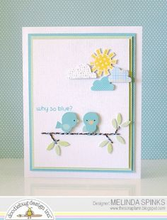 We are still at it today with card creations that incorporate song lyrics. You'll love what Amanda and Melinda did with these today.   Sen...