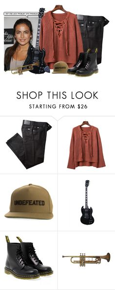 """""""◊&; when the mighty fall in love"""" by lightyears-away ❤ liked on Polyvore featuring BRAX, Undefeated and Dr. Martens"""