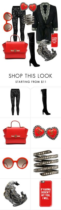 """""""Artist Meet & Greet"""" by house-of-dahlstrom ❤ liked on Polyvore featuring McQ by Alexander McQueen, Stuart Weitzman, Chanel, Alexander McQueen, Lynn Ban, Chicnova Fashion and Casetify"""