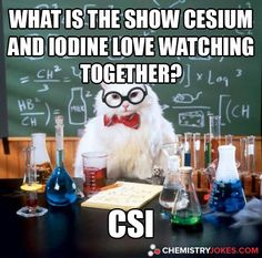 Chemistry Cat Electrons are in fact negative not positive.>>>which is why, having lost one, Chemistry Cat is now positive. Chemistry Cat, Chemistry Pick Up Lines, Science Cat, Science Puns, Funny Science Jokes, Quotes On Science, Funny Nerd Jokes, Science Comics, Science Cartoons