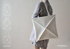 Origamis que cambian tu vida y tu bolso a diario