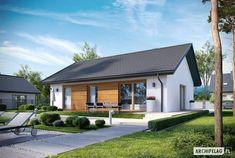 Projekt domu Kornel V ENERGO - Archipelag.pl