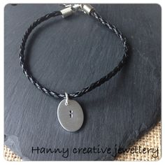 Semicolon bracelet, raising awareness of Mental Health by HannyCreativeShop on Etsy