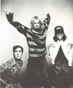 Nirvana by Anton Corbijn | striped jumper | rock | 27 club | www.republicofyou.com.au
