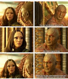 drax being bitter sweet Marvel Memes, Marvel Dc Comics, Marvel Avengers, Nerd Geek, Geek Culture, Guardians Of The Galaxy, Marvel Cinematic Universe, Funny Memes, Pom Klementieff