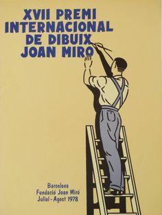 Original Vintage XVII Premi Internacional De Dibuix Joan by HodesH