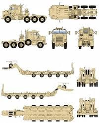 *would make a great detail piece on a game table, it could be unloading tanks. Custom Big Rigs, Custom Trucks, Heavy Duty Trucks, Big Trucks, Blender 3d, Oshkosh M1070, Us Army Rangers, Offroad, Trailers