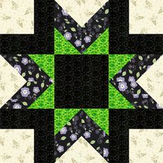 You'll Love the Vibrant Morning Star Quilt Block Pattern: About the Morning Star Quilt Block Pattern