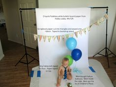 Pullback: Behind the Scenes of a Cake Smash | Chrissy Martin Photography