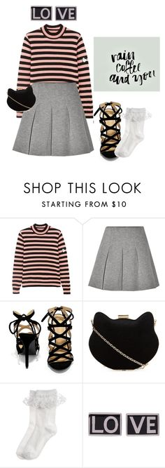 """Geen titel #106"" by fietjeew on Polyvore featuring mode, Shrimps, T By Alexander Wang, Shoe Republic LA, New Look, Monsoon en Givenchy"