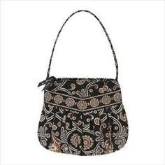 Vera Bradley~ Have this pattern in a tote and matching cosmetic bag~ fun to carry.