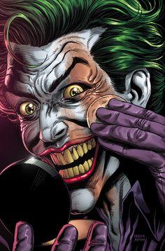 Joker Comic, Joker Dc Comics, Joker Art, Dc Comics Art, Comic Art, Comic Books, Joker Batman, 3 Jokers, Three Jokers