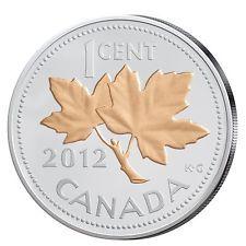 Silbermünze mit Gold aus Kanada