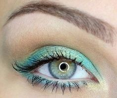 Mermaid eyes,def ideal for summer.Pretty!