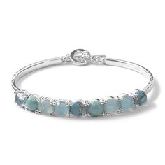 IPPOLITA Rock Candy Sterling Silver 9-Stone Toglette in Turqam