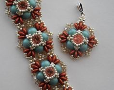 2 Tutorials Snowflake and January Earring Tutorials Beaded