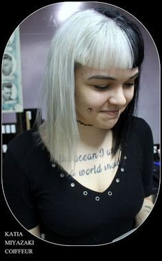 Katia Miyazaki Coiffeur - Salão de Beleza em Floripa: glam rock - glitter punk - gothic fashion - estilo...